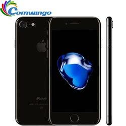 Разблокированный Apple iphone 7 Оригинал 2 Гб ОЗУ 32/128 ГБ/256 Гб ПЗУ IOS 10 Четырехъядерный 4G LTE 12.0MP iphone 7 Apple отпечатков пальцев touch ID