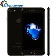 סמארטפון Apple iPhone 7 המקורי 2GB RAM 32/128GB/256GB ROM IOS 10 Quad ליבת 4G LTE 12.0MPApple טביעת אצבע מגע מזהה