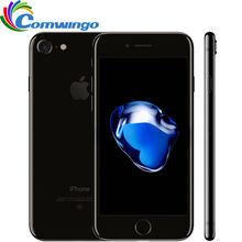 Oriģināls atbloķēts Apple iPhone 7 2GB RAM 32 / 128GB / 256GB ROM IOS 10 Quad-Core 4G LTE 12.0MP iphone7 Apple pirkstu nospiedumu ID ID