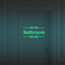 Big Mouth Toilet Sticker Night light Wall Decorations DIY vinyl Adesivos de paredes home decal mual art waterproof posters paper