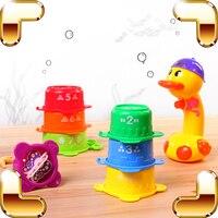 Presente Do verão Brinquedos de Pulverização de Água do Sensor de Temperatura Do Banho Do Bebê Pato Crianças Divertido Chuveiro Jogo Crianças Ferramenta De Aprendizagem Presente Jogo Legal