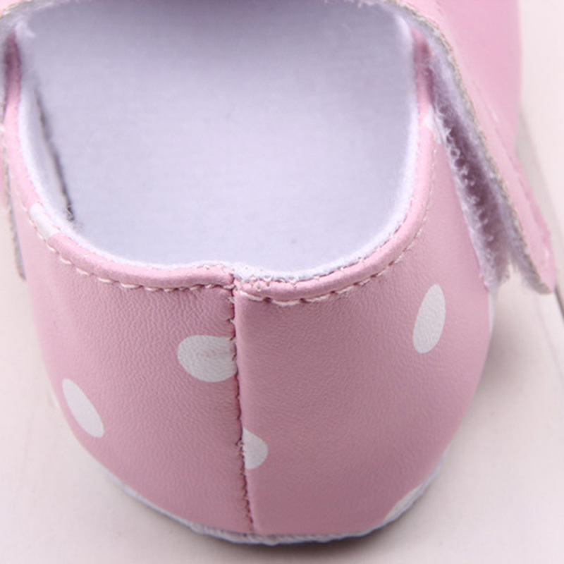 Kids-Baby-Girls-Sweat-Polka-Dots-Printed-Shoes-PU-Leather-Bow-Decor-Princess-Shoes-5