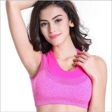 Women Yoga Bra Sports Bra Running Gym Fitness Athletic Bras Padded Push Up Tank Tops For Girls and Women ropa deportiva shirt
