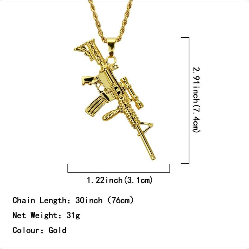 Хип-хоп ювелирные изделия Модные золотые длинные цепочки ожерелья для женщин и мужчин персонализированные буквы Орел молитвенный знак карта кулон ожерелье - Окраска металла: N057