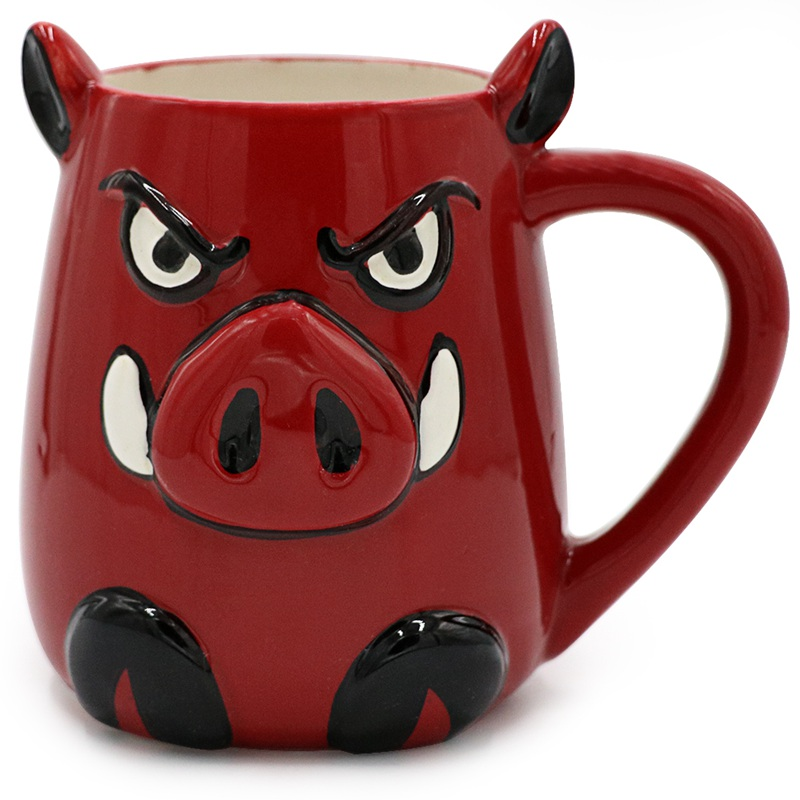 15 Oz Lovely Pig Coffee Mug For Tea Cute Red Morning Ceramic Christmas Gift In Mugs From Home Garden On Aliexpress Alibaba