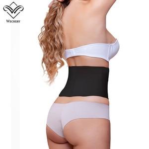 Image 2 - Women Slim Waist Trainer Latex Underbust Corset Slimming Corset 9 Steel Boned Short Back Support Waist Belt Cincher