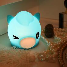 Ночная лампа с рассеянным светом светодиодный бутылочка для кормления ребенка ночник