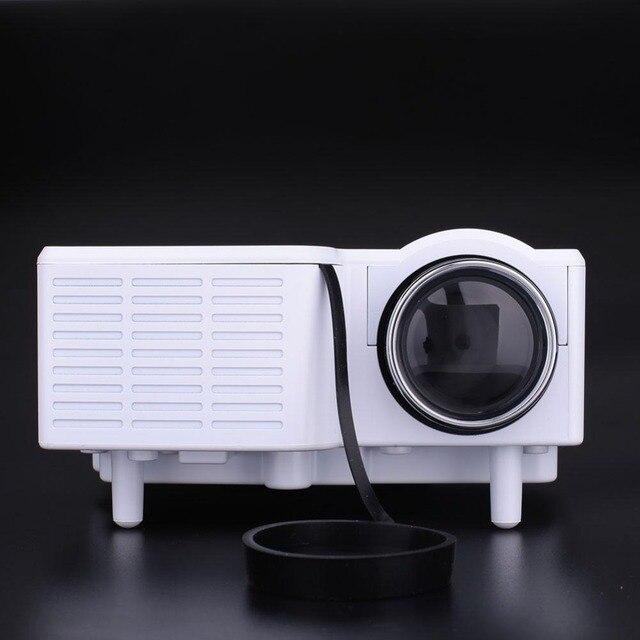 Home Cinema Theater Multimedia LED Projector HD 1080P VGA/USB/SD/AV/+Remote