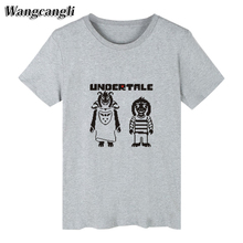 Undertale Gossha rubchinsky young people Anime Short Men's T-shirt Sleeve funny t shirts and Sans T-shirts for men Tee Shirts