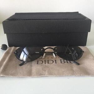 Image 4 - DIDI Mini Senza Montatura Occhiali Da Sole Uomo Classic Matrix Morpheus Ovale Occhiali da sole Donne Steampunk Film Occhiali Ultra Sottile E leggero Telaio U808