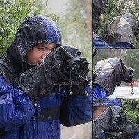 Rain Cover Coat Dust Protector Case For Nikon D7100 D5500 D5300 D5200 D3300 D90 For Canon