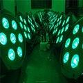 (6 pcs) transporte rápido super brilhante led par rgbw slimpar quad 7 led plana par 7x12 w rgbw 4in1