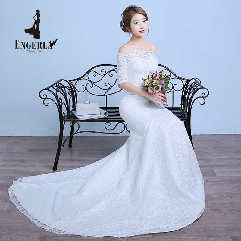 Summer new designer lace mermaid wedding dress plus size for Plus size mermaid wedding dresses with sleeves
