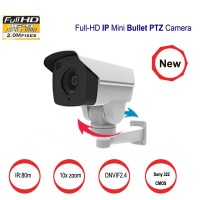 2017 New Motroized 10XIP CCTV Camera 10X Optical Zoom Auto Iris HD 1080P Bullet 2MP IP