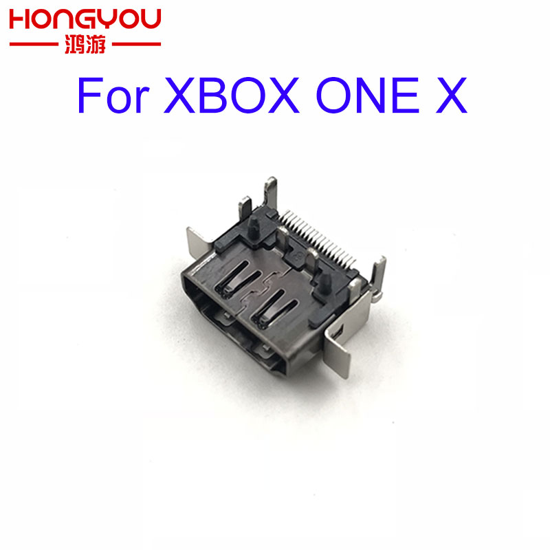10pcs Original HDMI Port Connector Socket Replacement For Microsoft Xbox One X Slim