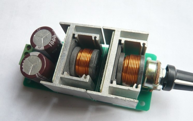 Freeshipping Dc motor speed regulator PWM Adjustable voltage stability module цена и фото