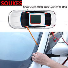 Car Windshield Edges Gap Rubber Sound Seal Strip Sticker For BMW E46 E39 E90 E60 E36 F30 F10 E34 X5 E53 E30 F20 E92 E87 M3 M4 M5(China)