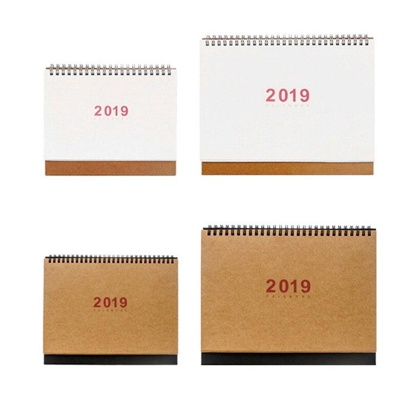 Office & School Supplies Angemessen Neue 2019 Jahr Einfache Kalender Kreative Schreibtisch Stehenden Papier Kalender Multifunktions Organizer Schedule Planer Buch Kalender