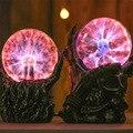 Лампа в виде скелета  волшебная  с ионным шаром  Электростатическая  прозрачная  для рождественской вечеринки  сенсорная  волшебная  ночная