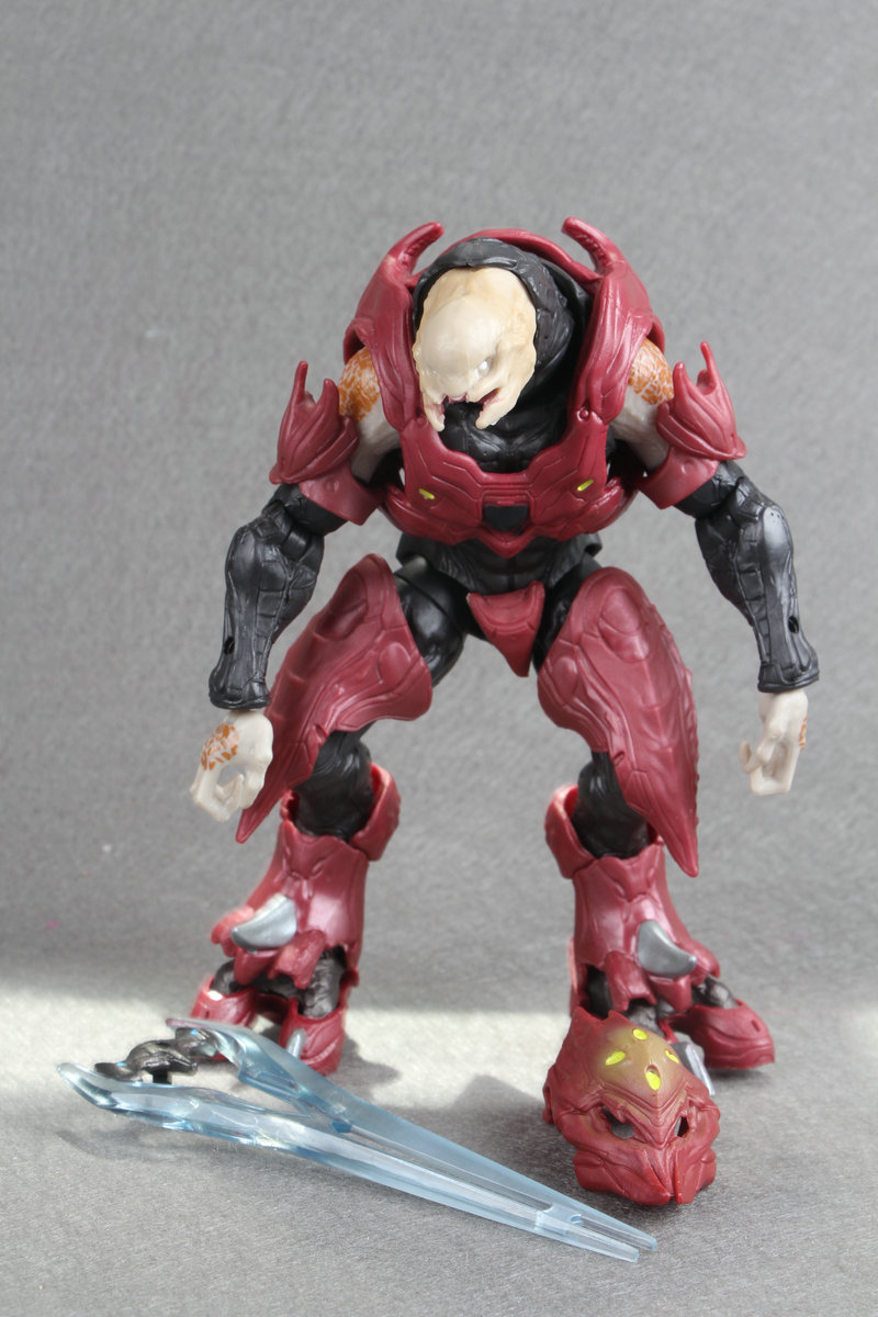 Halo 6 Covenant Elite Zealot Action Figure loose no pack Conllection Toys ...