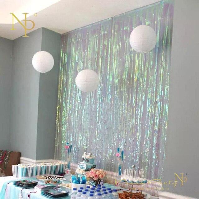 Nicro 3m Rain Curtain Colorful Tassel New Decoration New Diy Decor