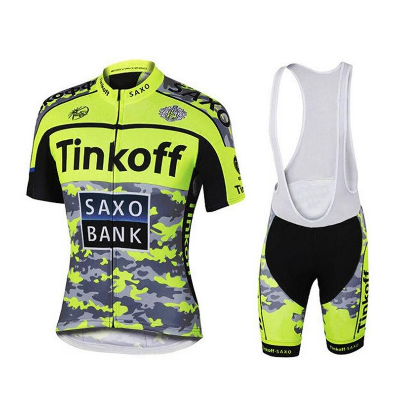 Prix pour 2016 Sport Cyclisme Jersey Vélo Ciclismo Vélo Bicicleta Ropa Maillot Vtt Vêtements Roupas Vêtements Camisetas Tinkoff Saxo