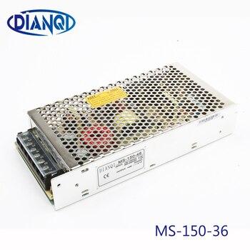 DIANQI امدادات الطاقة 36 فولت 150 واط 36 فولت 4.2A امدادات الطاقة 150 واط 36 فولت حجم صغير led وحدة امدادات الطاقة التيار المتناوب تيار مستمر محول ms-150-36