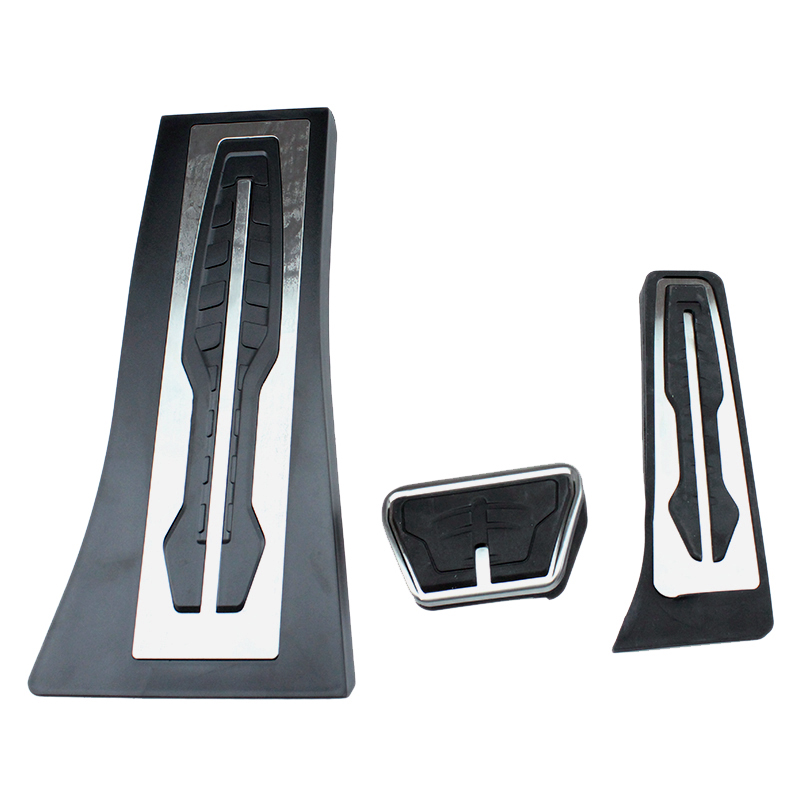 For BMW 1 2 3 4 5 6 7 series GT X3 X4 X5 X6 Z4 F10 F15 F30 F31 F34 G30 AT Gas Fuel Brake Footrest Pedal Plate Pad Accessories image