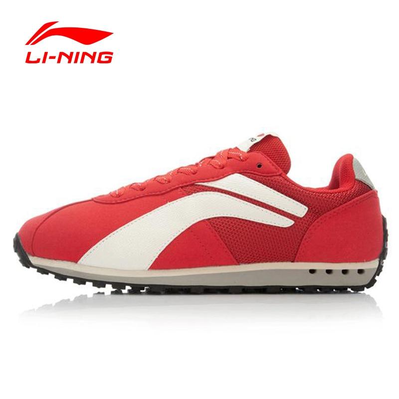 ФОТО Li-Ning Men's Walking Shoes Leisure Classic Lifestyle Wear-Resistance Breathable Sneakers Sports Shoes Li-Ning ALCK097 XYP382