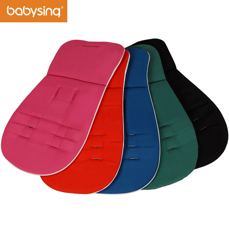 Free Shipping Stroller Accessories Easy to Wash Reversible Cotton Pad Liner Cushion for Stroller Car Seat