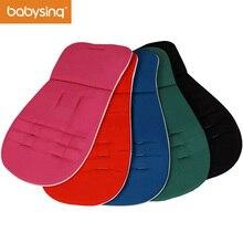Livraison Gratuite Poussette Accessoires Facile à Laver Réversibles Coton Tapis Liner Coussin pour Poussette Siège De Voiture Chaise