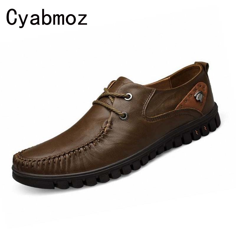 New Fashion Luxury Shoes High Quality Men Flats Casual Shoes Genuine Leather Italian Oxford Shoes Formal Business Zapatos Hombre men shoes tide shoes casual fashion oxford business men shoes leather high quality soft casual breathable men s flats man shoes
