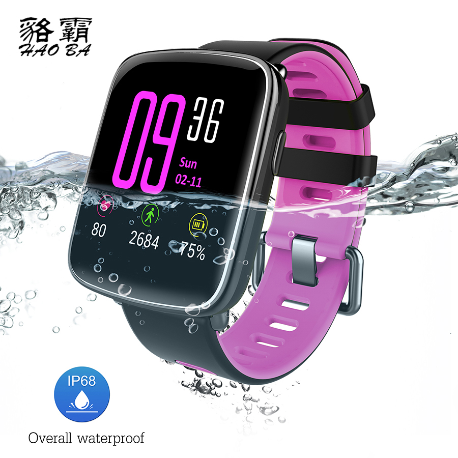 GV68 Natation Montre Smart Watch IP68 Étanche MTK2502 Bluetooth 4.0 - Smart electronics