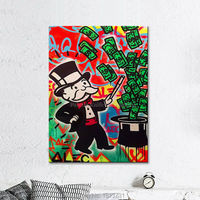 Alec Pop Art Wall Art Pictures Painting For Living Room Home Art Decor Canvas 3
