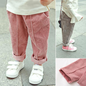 Girls Trousers Harem-Pants Good Fleece Toddlers Autumn Thick Baby-Boys Kids Winter Corduroy
