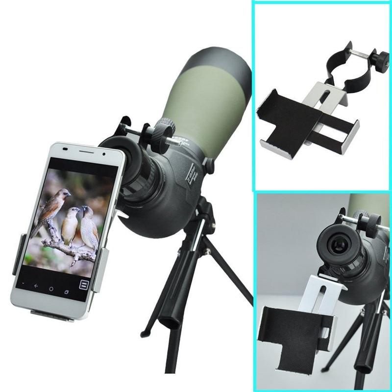38mm-50mm سازگار با دوربین شکاری یکپارچه دامنه تلسکوپ آداپتور تلفن های همراه برای Iphone