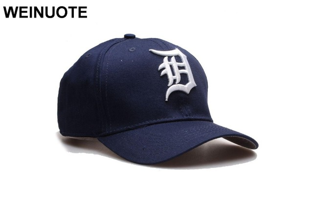 242117ba Men's Detroit Tigers Adjustable Strapback Hats Sport classic Baseball Full Navy  Hat Caps Hat Fowmen Free shipping