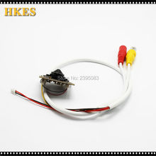 HKES New 12pcs/lot High Resolution 2MP Mini AHD Analog Camera module with 3.7 mm lens