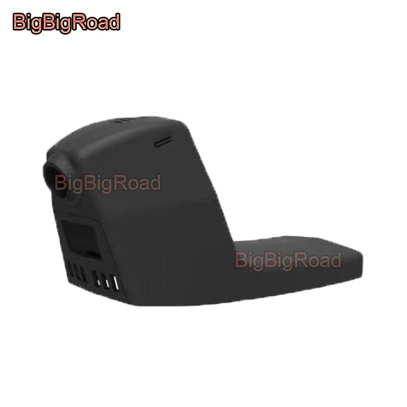 BigBigRoad pour BMW X4 adapté pour capteur de lumière voiture wifi DVR enregistreur vidéo caméra de tableau de bord caméra FHD 1080 P Vision nocturne