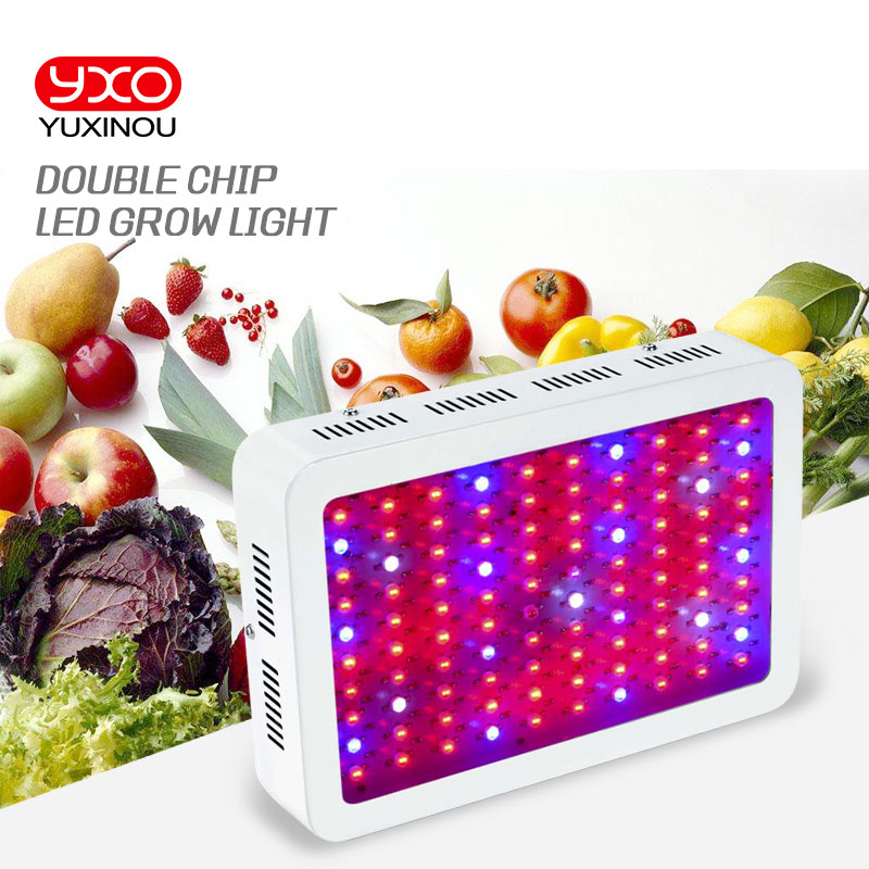 Full Spectrum 45W 300W 600W 1000W 1600W Double Chip LED Grow Light lamps Red/Blue/White/UV/IR For hydroponics and indoor plants wechip v7 android tv box 7 1 5000 live iptv nordic arabic france europe netherland portugal usa brazil asia smart tv iptv box