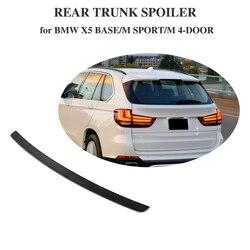 Tylny bagażnik z włókna węglowego wysoki Spoiler skrzydło dla BMW X5 M Sport baza Sport X napęd 35i 40e 50i Sport Utility 4 drzwi 14-18