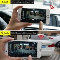 WIFI Car DVR Auto Registrar 360 Degree Dash Cam Wireless Car Truck Driving Recorder Dash Camera Camcorder Night Camera