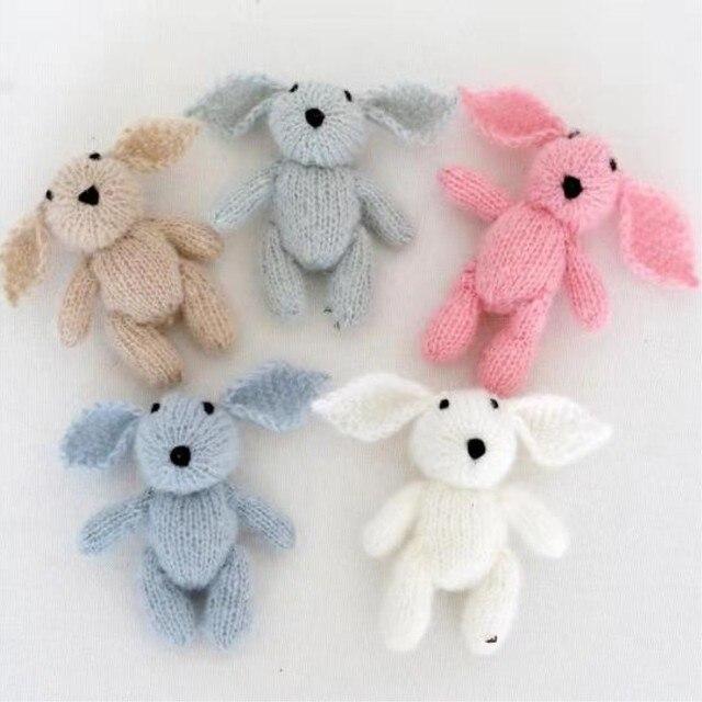 Leuke Haak Bunny Mooie Mini Bunny Speelgoed Pasgeboren Knuffels Baby