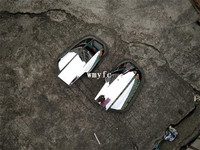 DOOR SIDE WING MIRROR CHROME COVER REAR VIEW For HYUNDAI TUCSON 2005 2009