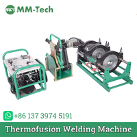 SWT B250/90H hdpe pipe butt fusion welding machine for 90 215mm