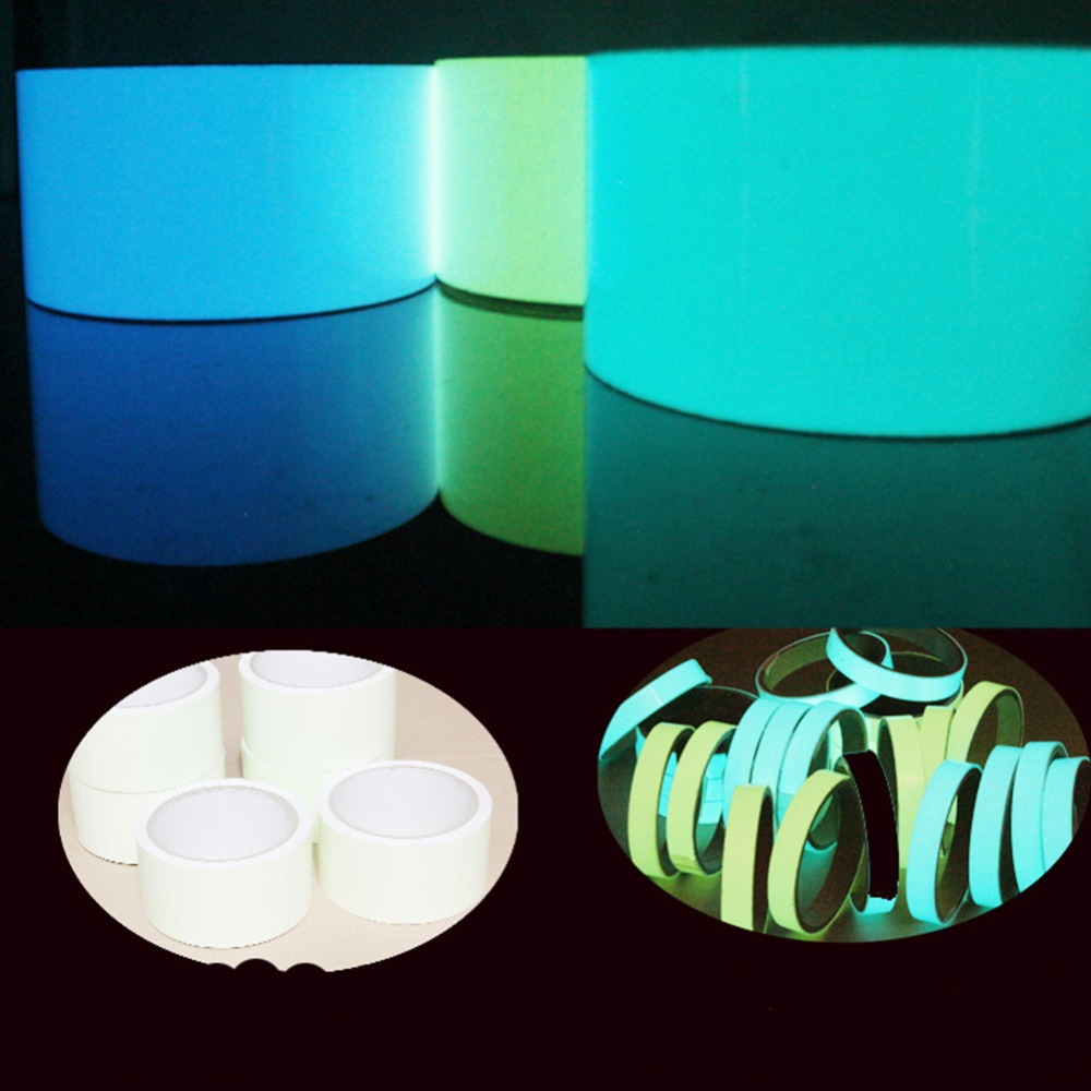 Tape Imported From Abroad 6styles New Arrival 3m Stage Warning Luminous Adhesive Tape Fluorescent Light Storage Adhesive Tape Pvc Luminous Tape#288921 Pleasant In After-Taste