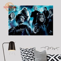 High Quality Custom Harry Potter Canvas Silk Fabric Poster Custom Wall Poster Print Silk Fabric For