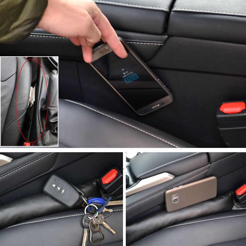 Para Nissan X Trail-T31 2008-2013 Xtrail 1PC ASSENTO de CARRO GAP STOPPER PARAR PAD À PROVA de VAZAMENTO ENCHIMENTO ESPAÇADOR CAPA de ALMOFADA TAPETE