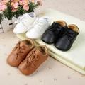 Baby Girl Обувь Новый Британский Стиль Baby Дети Обувь для Новорожденных Малышей Кожаные Ботинки Prewalker