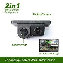 2 in 1 Show Indicator Sound Alarm Automotive Reverse Parking Sensor digicam Auto Rear View Digital camera